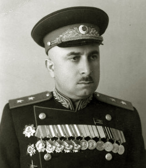 Комиссар госбезопасности, Нарком, генерал-лейтенант Г.Т. Каранадзе