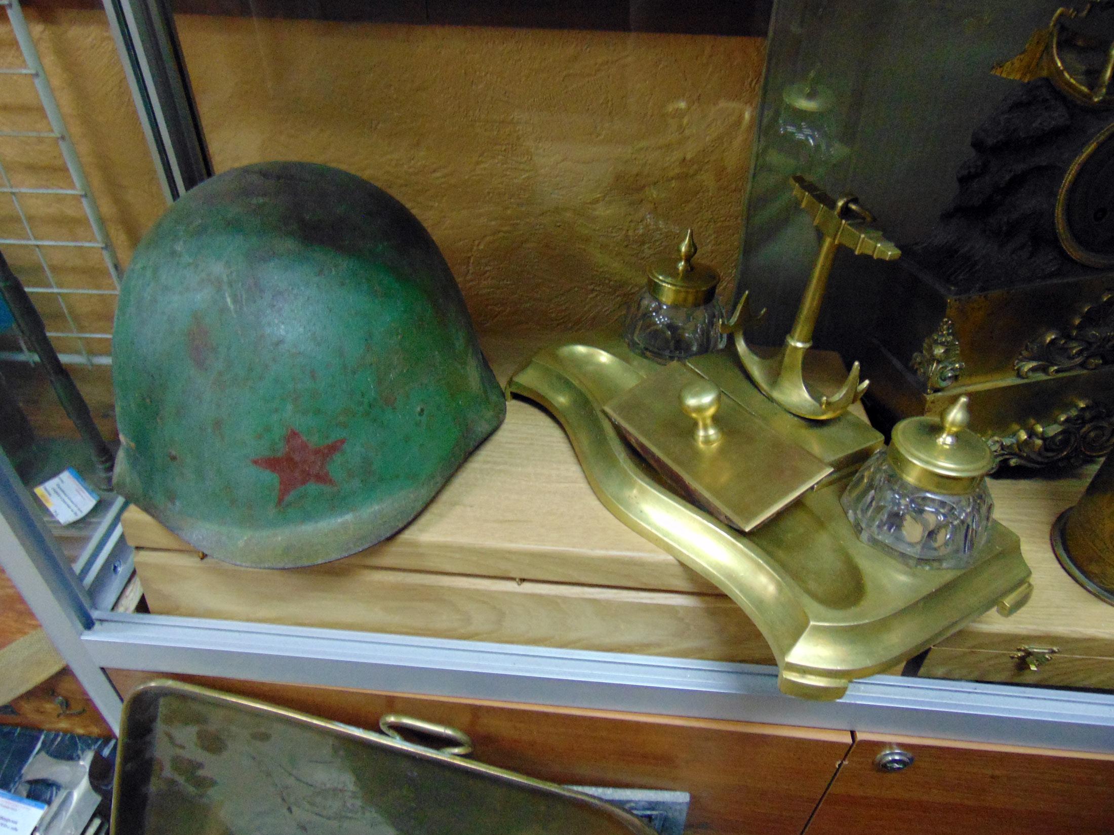 Советская каска, стальной шлем