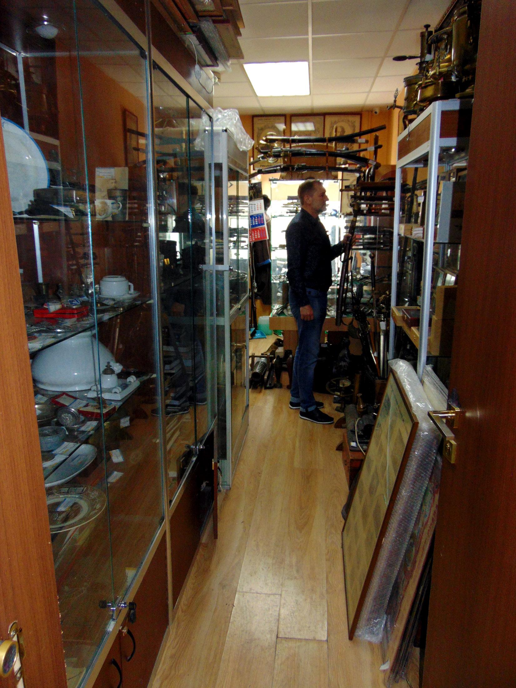 Магазин военного антиквариата в Москве