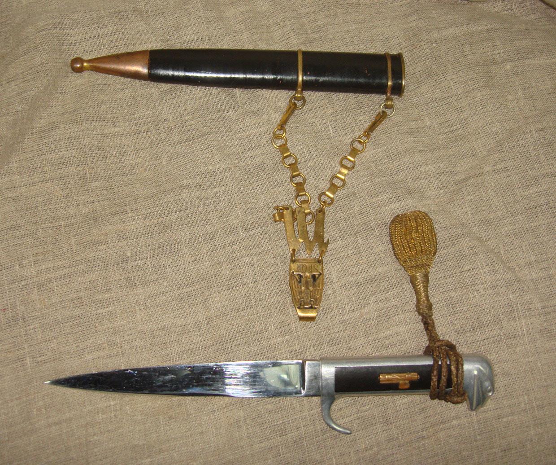 Нож итальянской фашистской партии образца 1939 года