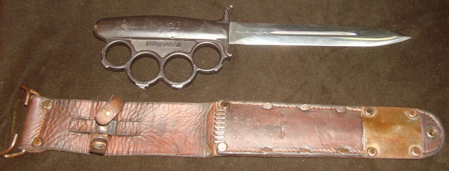 Нож-кастет американского спецназа USS времен Второй Мировой войны