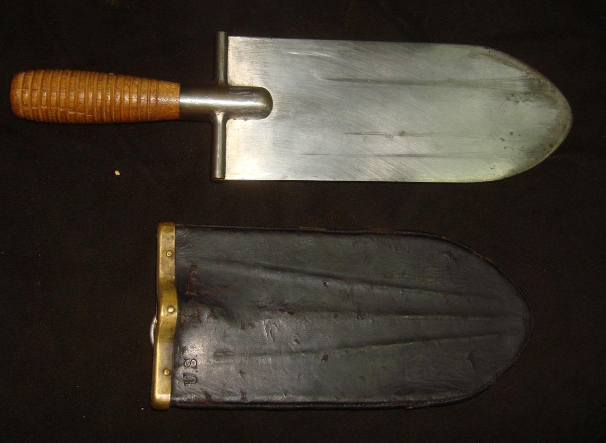 Американский саперный нож-лопата образца 1880 года