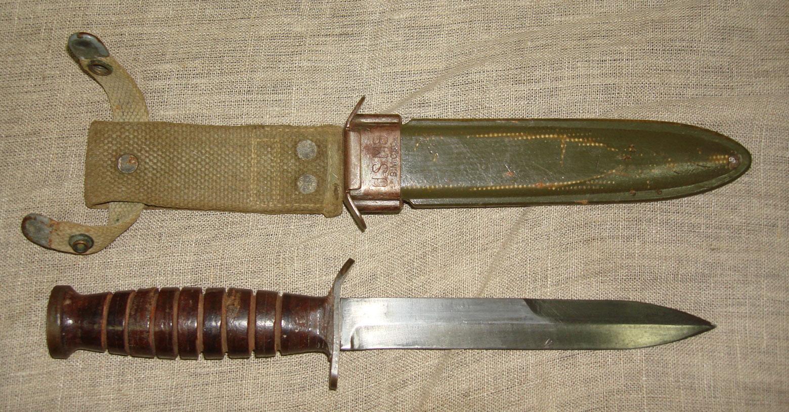 Американский боевой нож, Вторая Мировая война