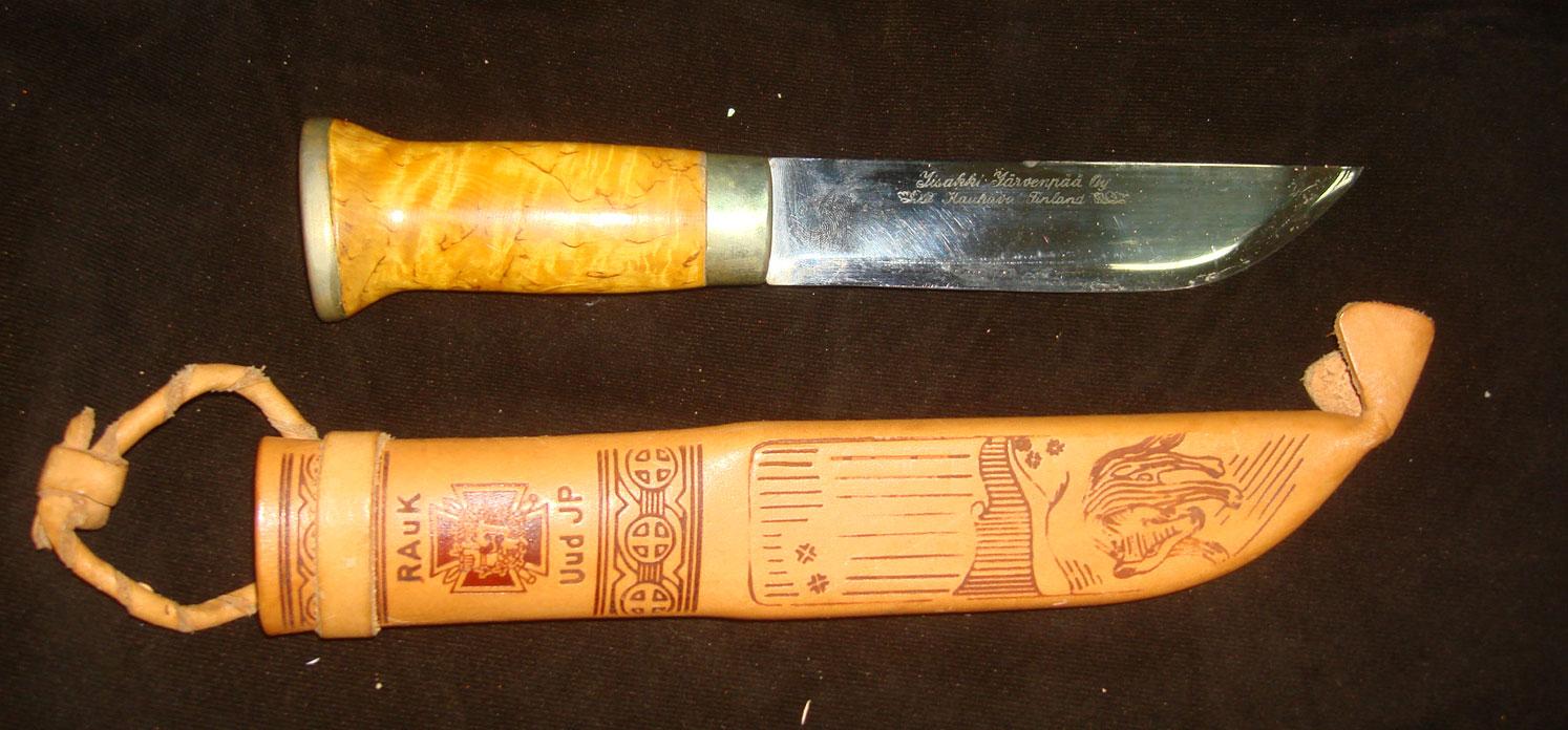 Нож школы сержантов резервистов, 1981 год
