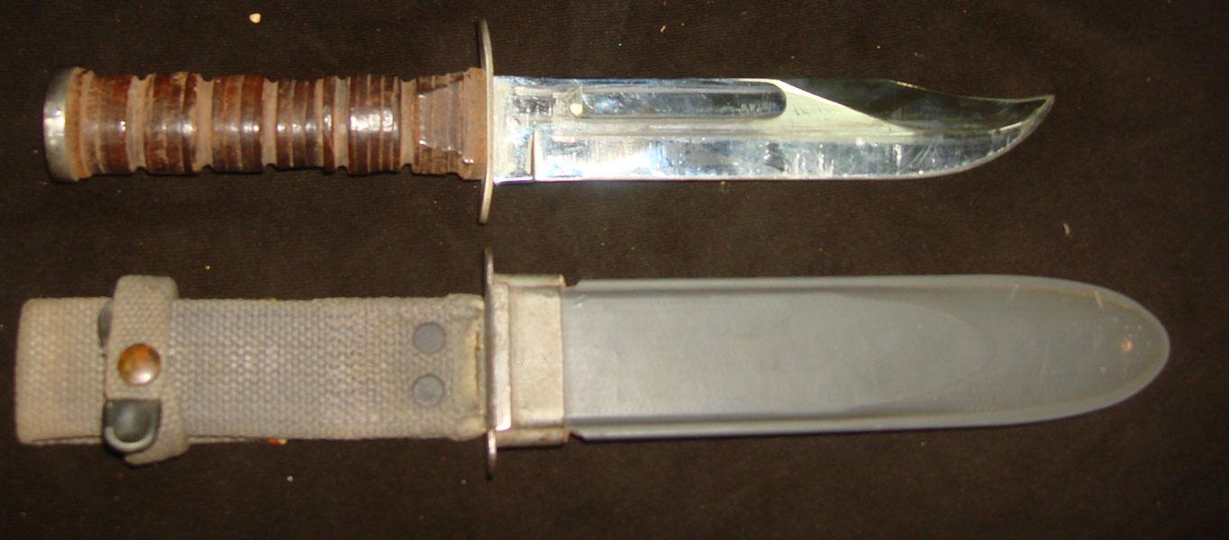 Нож американский флотский МК II