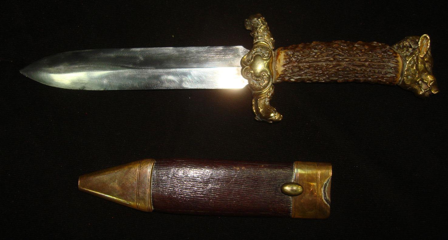 Нож охотничий, начало XX века