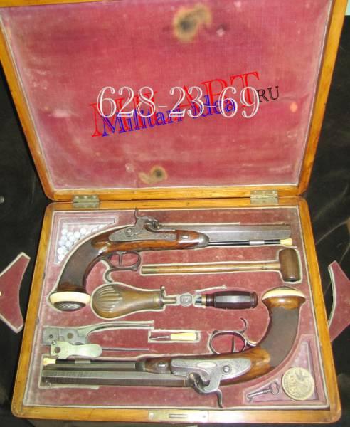 Пистолеты капсульные, Германия, 1850 е годы