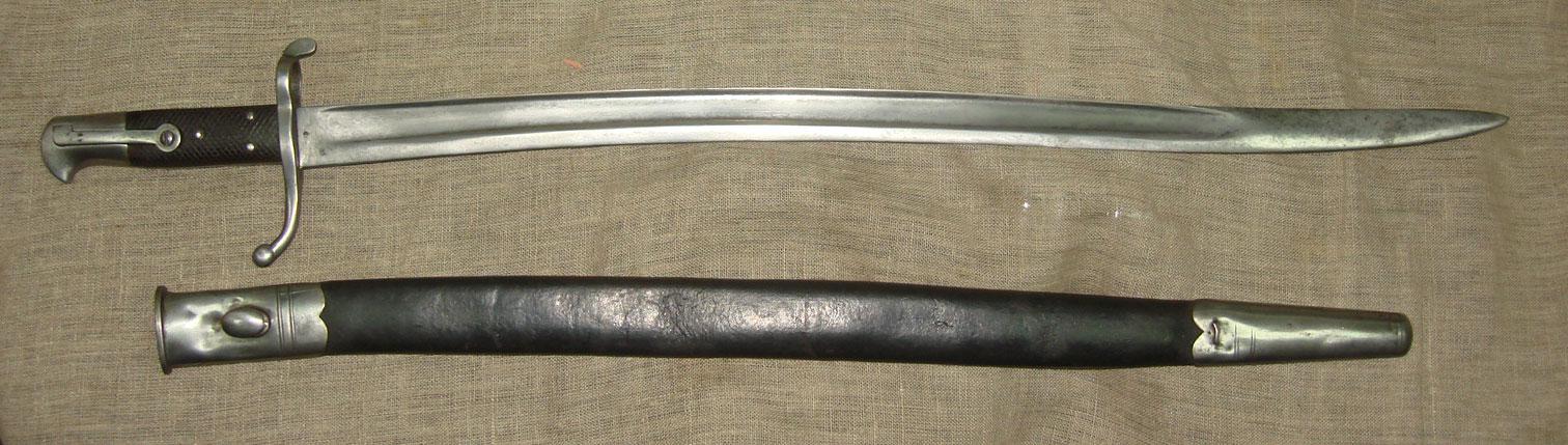 Штык английский, ятаганный образца 1860 года